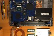 Чистка системы охлаждения ноутбука, замена термопасты