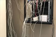 Серверные шкафы до и после.