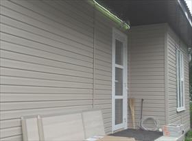 Фасадные работы- монтаж сайдинга