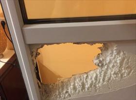 Замена сэндвич панели на балконной двери