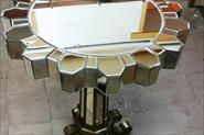 Реставрация зеркального кофейного столика