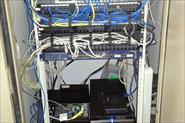 Замена подвесного шкафа на стойку, прозвон, маркировка, составление схем сети и коммутации оборудования