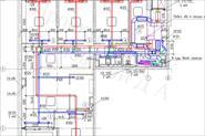Проект вентиляции и кондиционирования офисного помещения 200 кв.м.