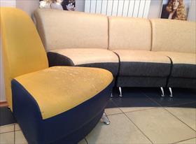 Перетянуть 8 кресел (модульный диван)