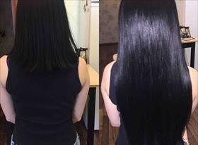 Мои работы с волосами До И После