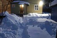 Очистка дач от снега.
