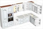 Создание дизайн проекта кухни, монтаж и подключение бытовой техники любой сложности, замер помещения