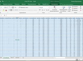 Дашборд по данным таблиц Excel