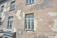 Безвоздушная покраска фасадов с вышек
