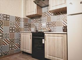 Пол, плитка, монтаж кухонного гарнитура