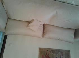 Чехол на диван и пуф