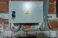 Монтаж линий освещения 24v в помещении подвального типа
