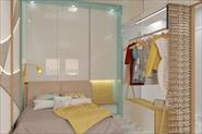 Квартира-студия для молодой девушки, 33 м2