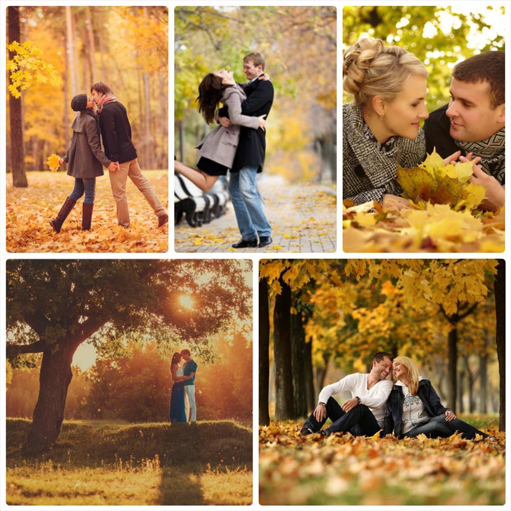 идеи для фото осенью фото