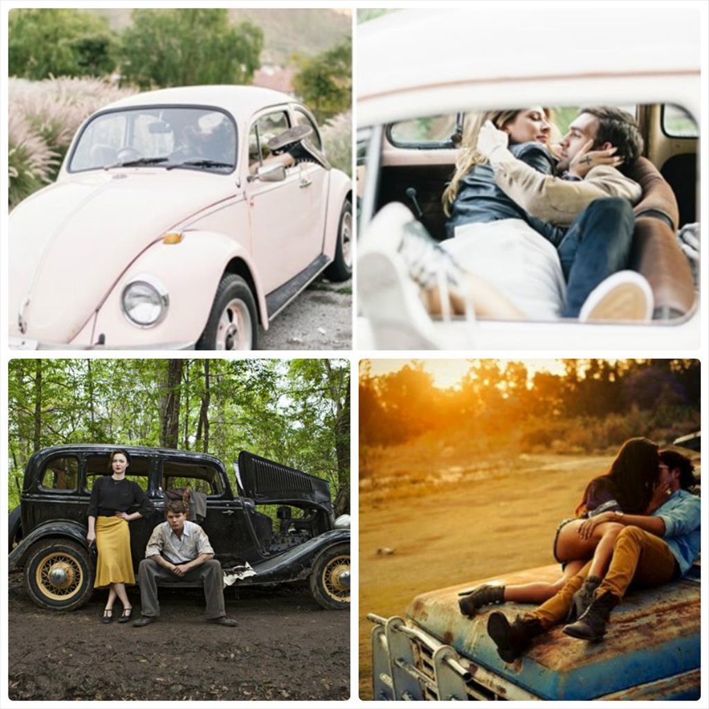 мужская фотосессия с машиной