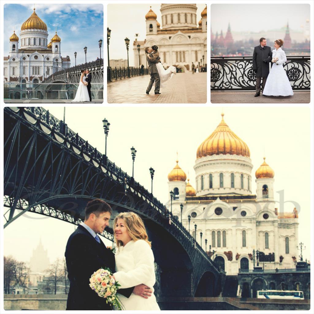 интересные места для свадебной фотосессии