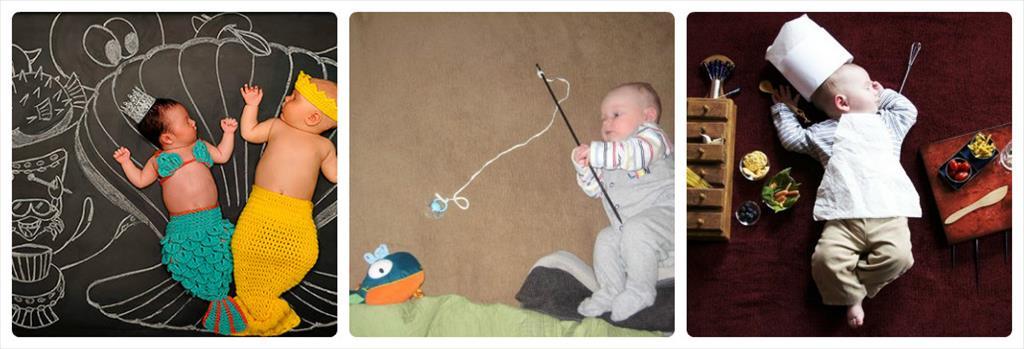 идеи для фотосессии новорожденных мальчиков