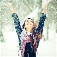 Фотосессия на природе зимой